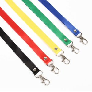 Plain Nylon Lanyards (LA07)