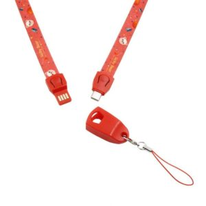 USB Charging Cable Lanyards ( LA09)