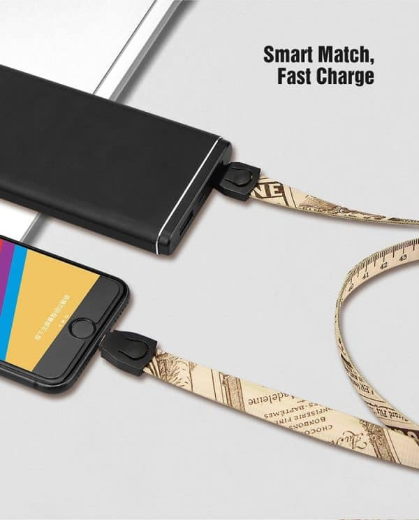 USB Charging Cable Lanyards ( LA09) Lanyards